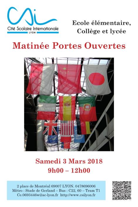39454 CITE INTERNATIONALE Affiche Portes Ouvertes